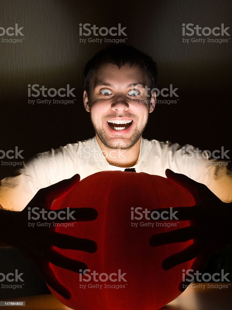 Awesome ball of light royalty-free stock photo