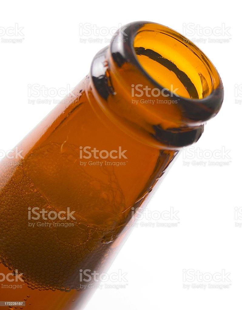Awesome Beer Bottle royalty-free stock photo