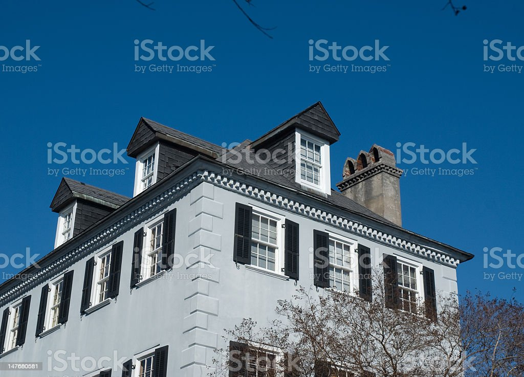 Awesome Charleston Architecture royalty-free stock photo