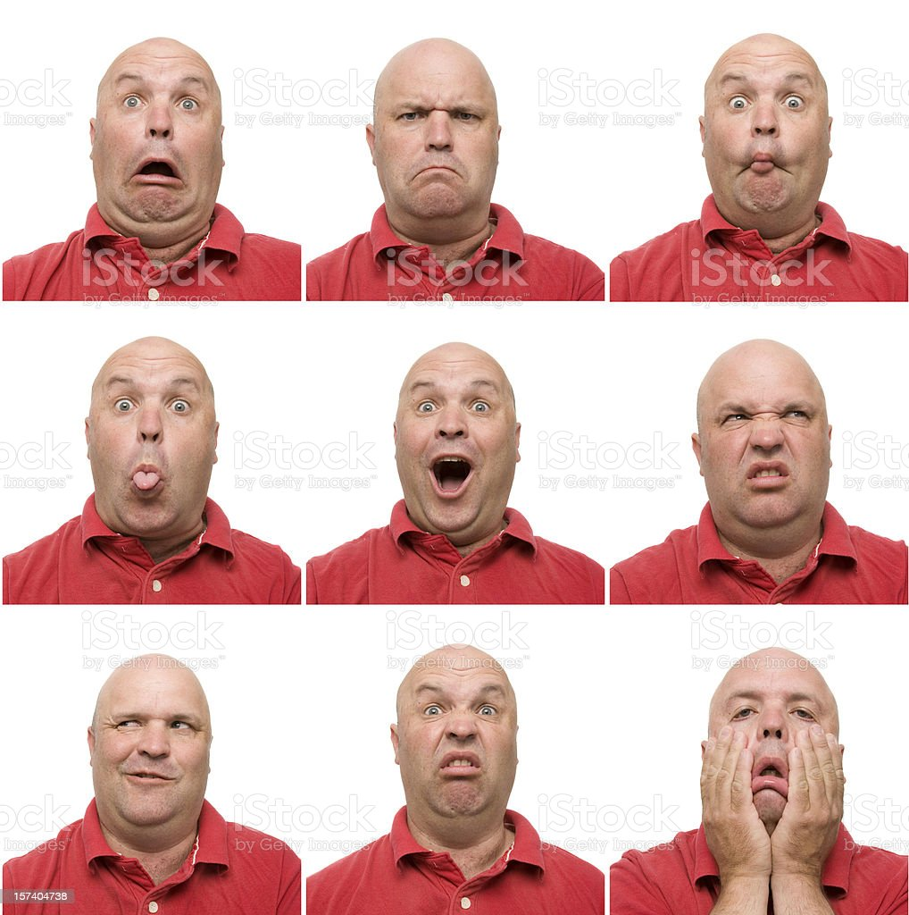 Awesome Expressions royalty-free stock photo