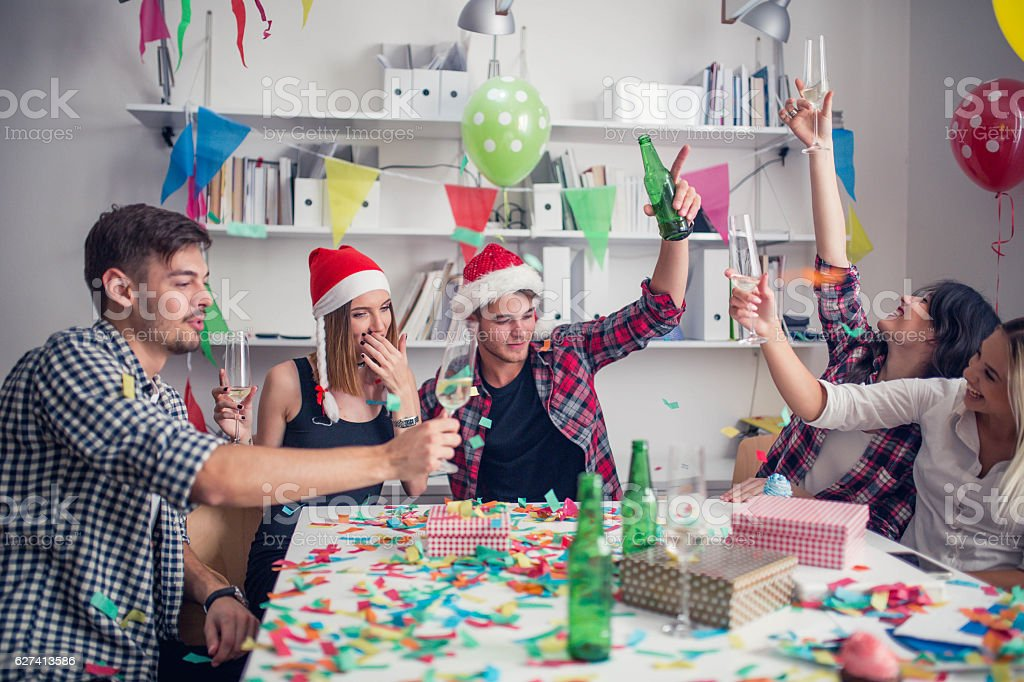 Awesome party stock photo