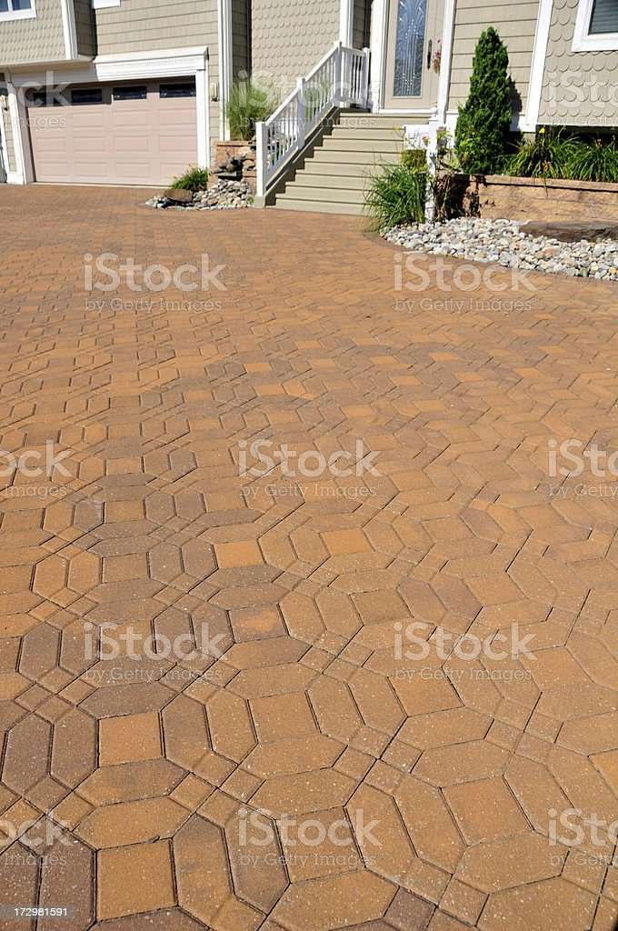 Awesome Pavers royalty-free stock photo
