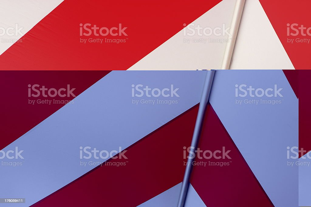 Awning Tent Canopy Striped Architecture royalty-free stock photo