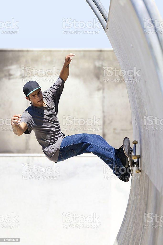 Awsome Skateboarder royalty-free stock photo