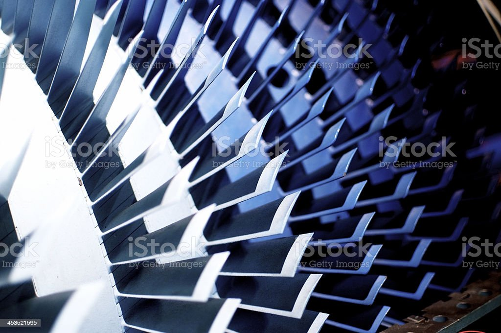 Axial Compressor stock photo