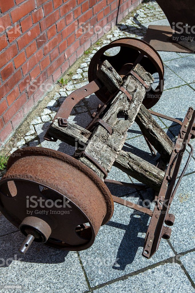 Axis of the car, stock photo