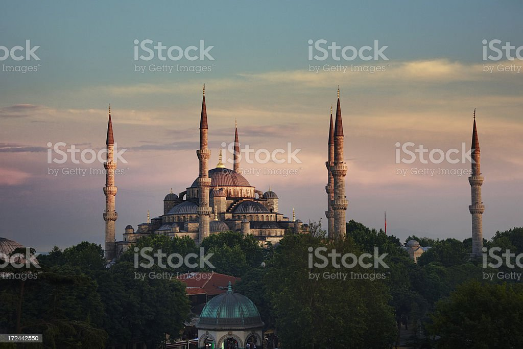 Aya Sofya, istanbul, turkey royalty-free stock photo