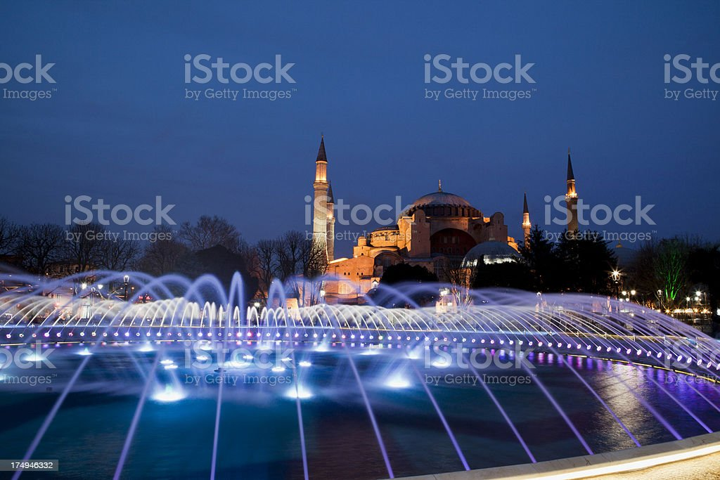 Aya Sofya royalty-free stock photo