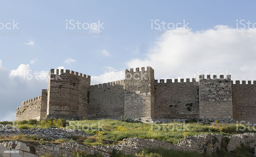 Ayasuluk Fortress, Turkey stock photo