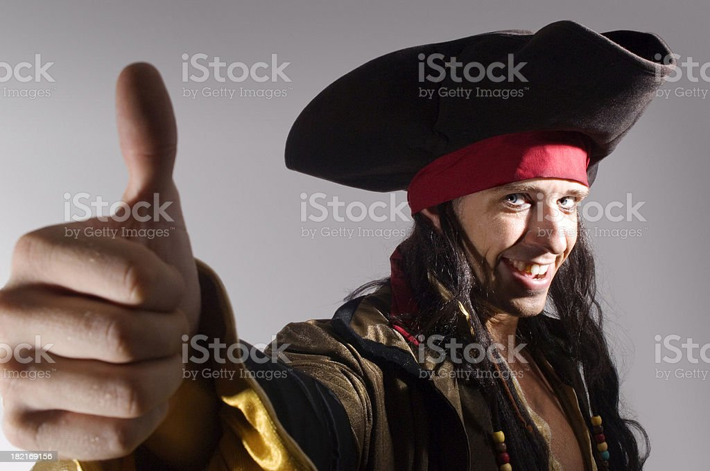 Aye, Approved royalty-free stock photo