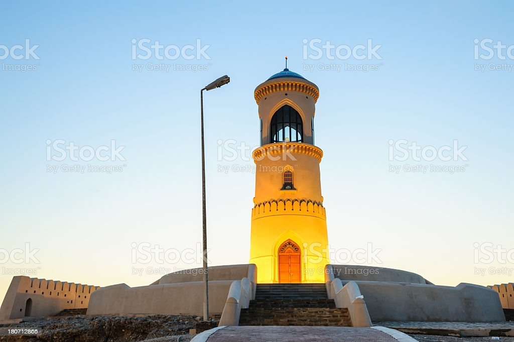 Ayjah Lighthouse royalty-free stock photo
