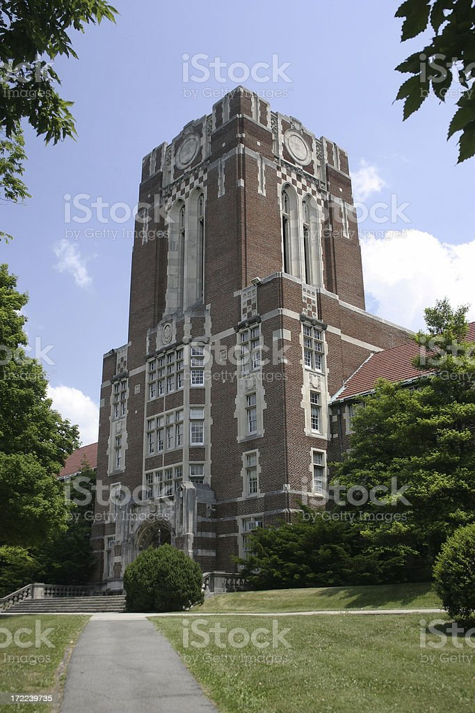 Ayres Hall at the University of Tennessee stock photo