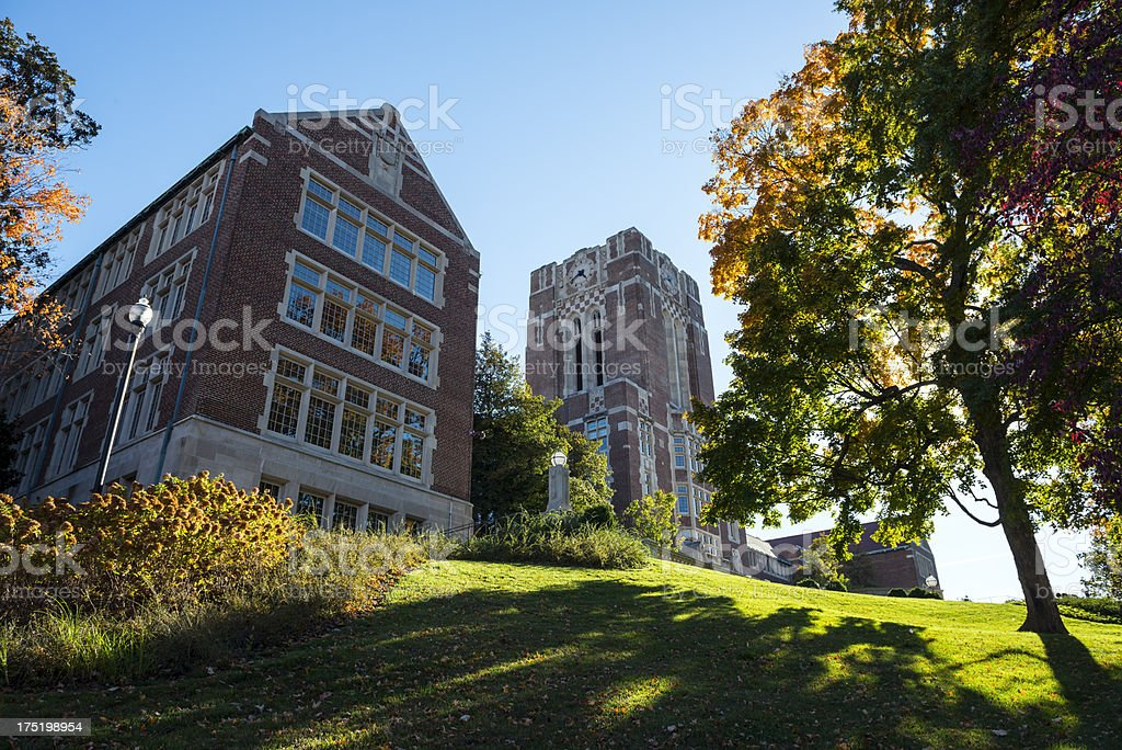 University of Tennessee The Hill stock photo