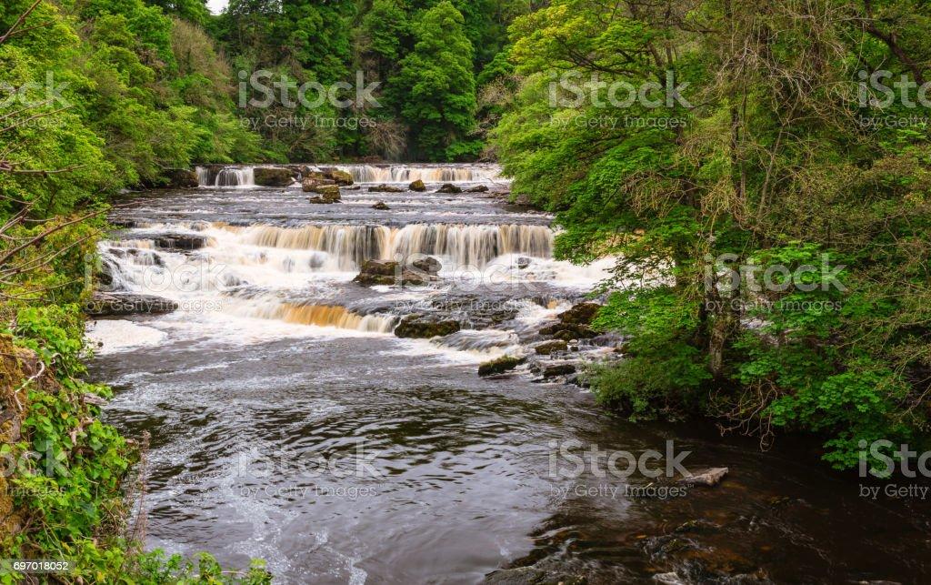 Aysgarth Upper Falls stock photo
