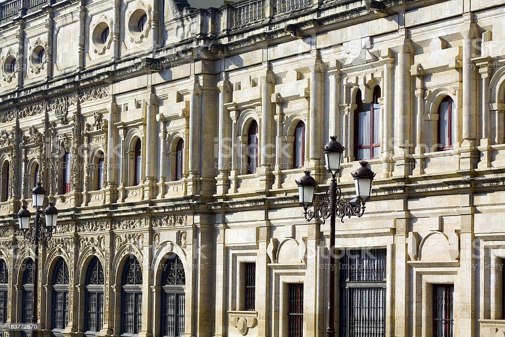Ayuntamiento de Sevilla royalty-free stock photo