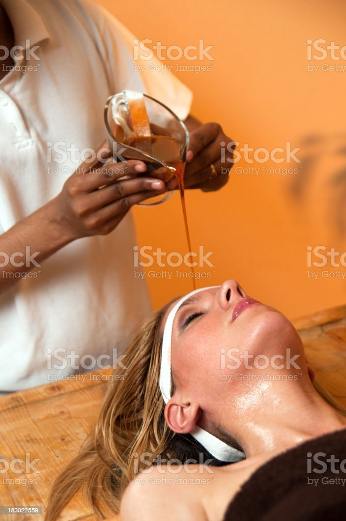 Ayurveda royalty-free stock photo