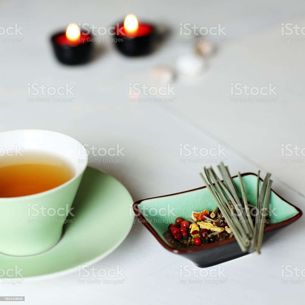 Ayurveda tea royalty-free stock photo