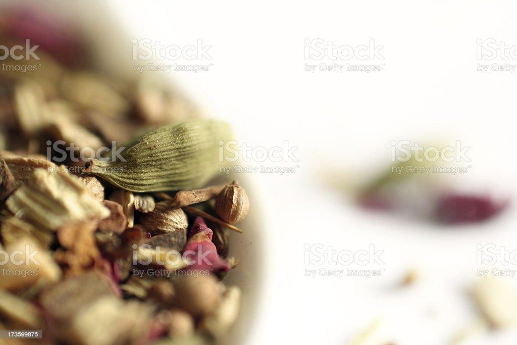 Ayurvedic Herbs royalty-free stock photo