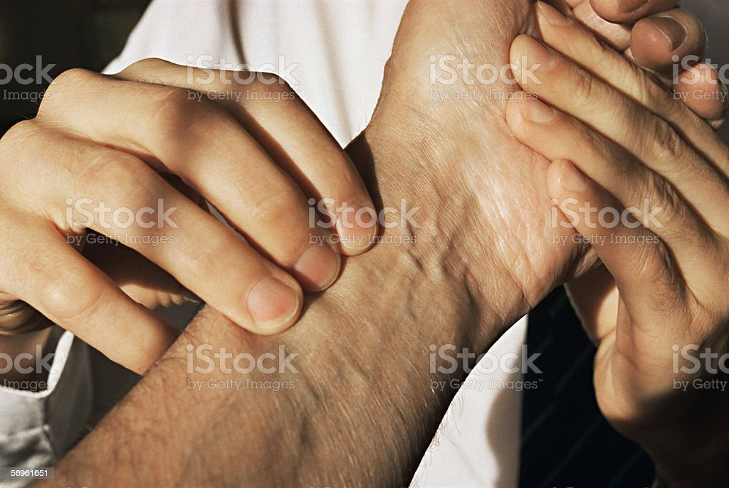 Ayurvedic medicine stock photo