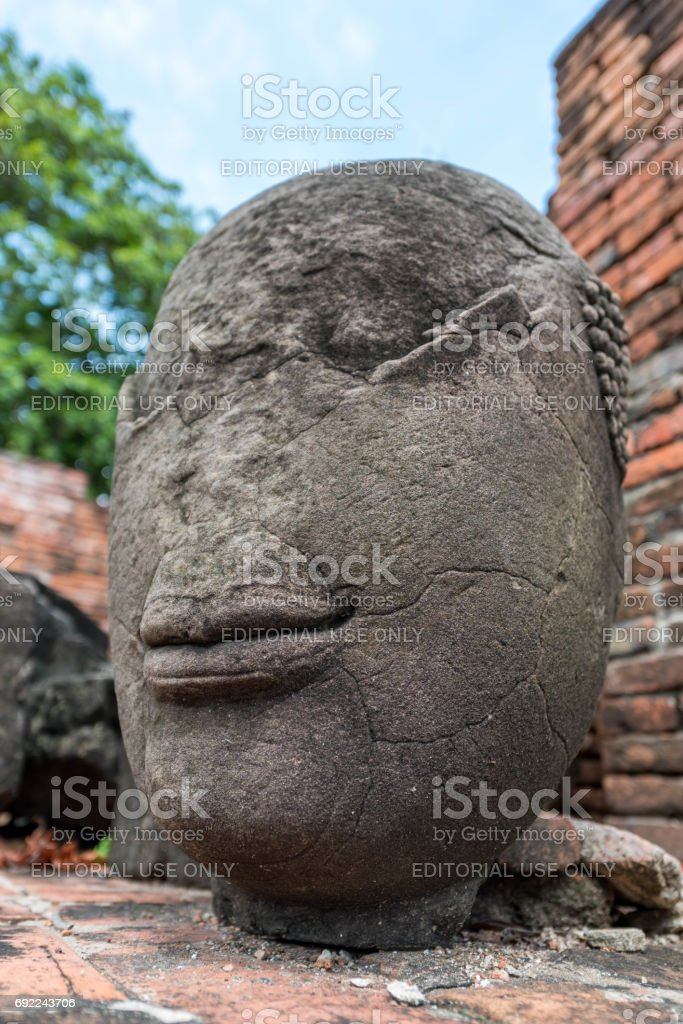 Ayuthaya stock photo