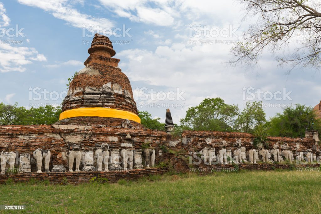 Ayutthaya province stock photo
