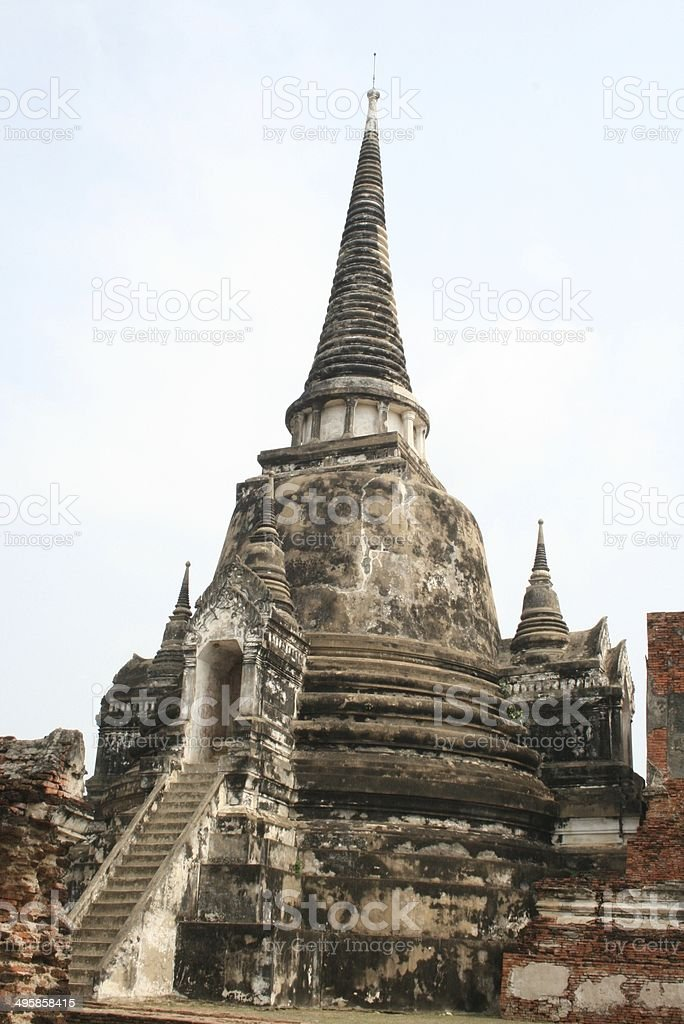 Ayutthaya Thailand stock photo