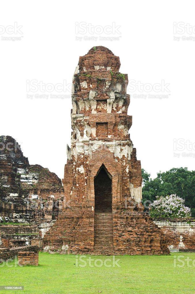 Ayutthaya,Thailand royalty-free stock photo