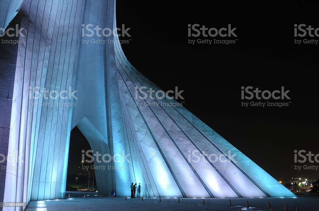 Azadi Square, Tehran, Iran stock photo