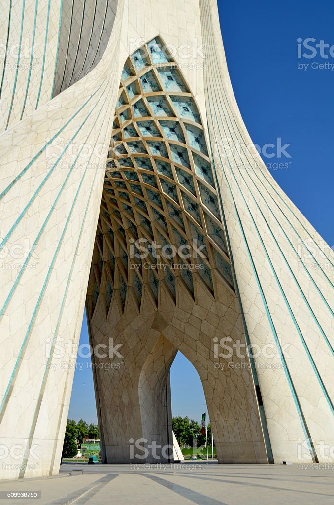 Azadi Tower, Tehran / Iran stock photo
