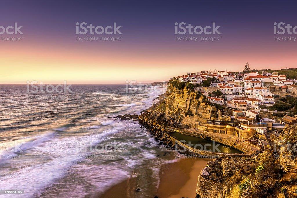 Azenhas do Mar stock photo