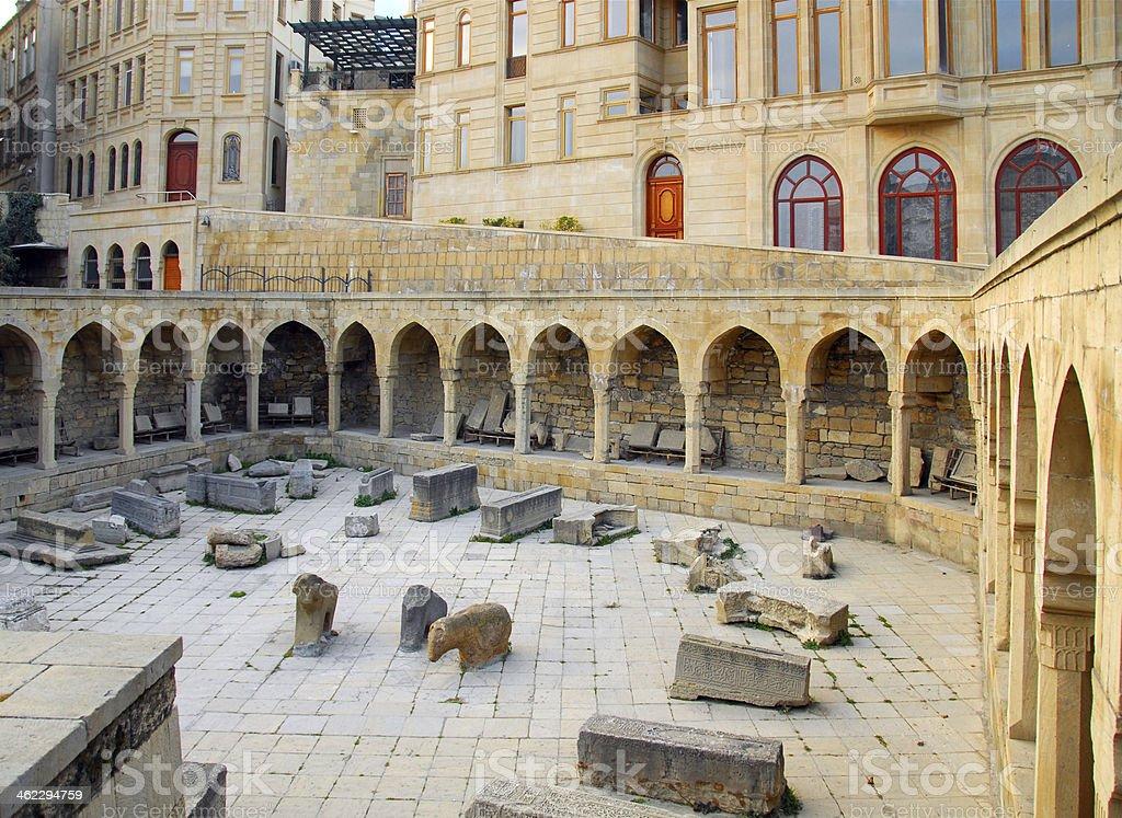 Azerbaijan - Old City of Baku, UNESCO world heritage stock photo
