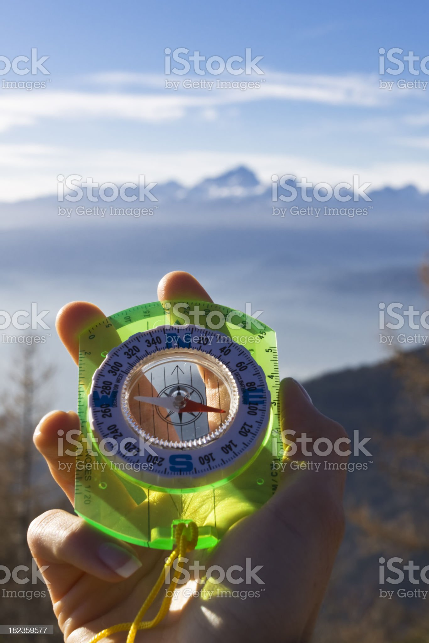 azimuth royalty-free stock photo