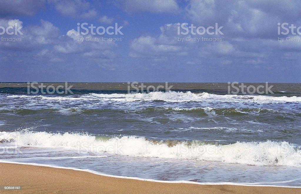 Azov sea beach royalty-free stock photo