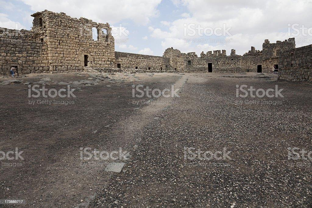 Azraq Castle stock photo