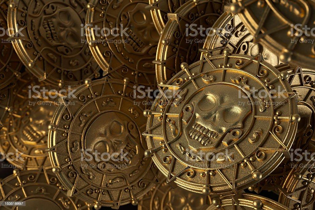 Aztec Gold stock photo