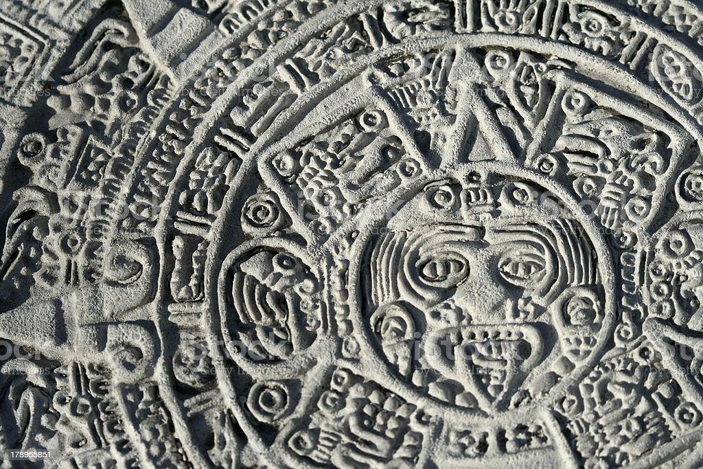 aztec royalty-free stock photo