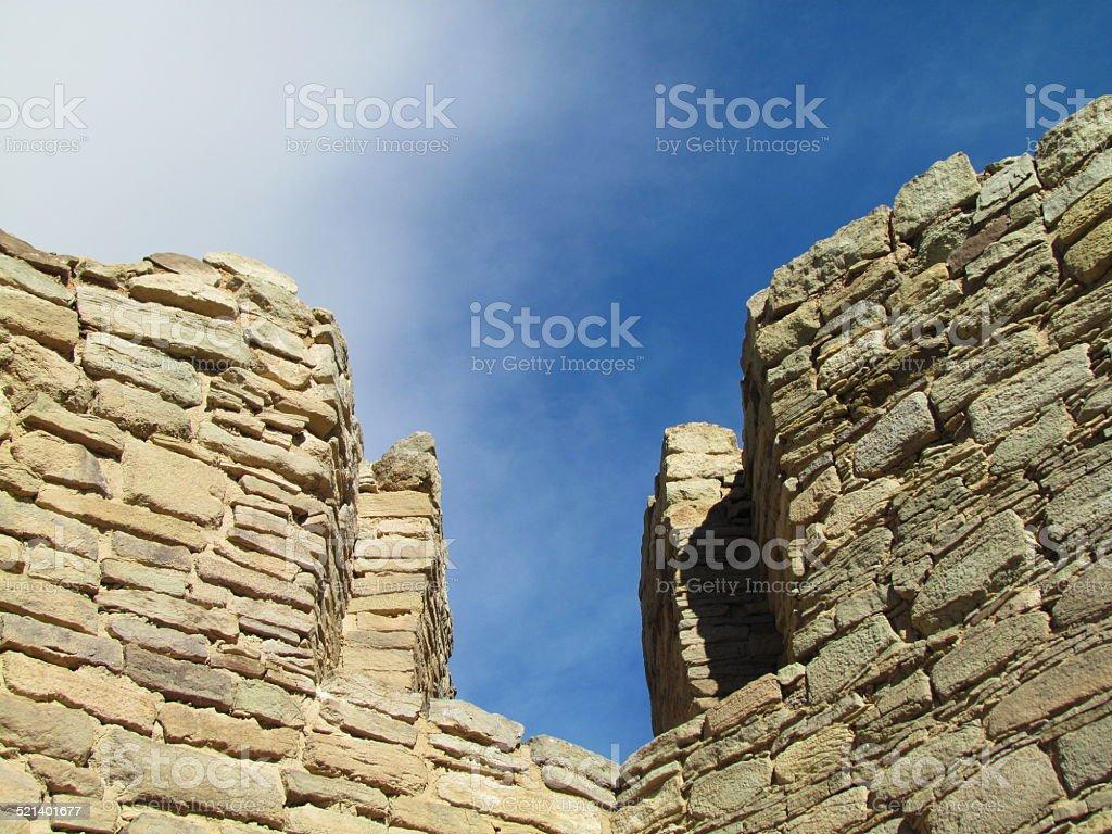 Aztec Ruins National Monument, Aztec, New Mexico stock photo