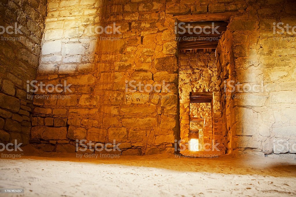 Aztec Ruins National Monument stock photo