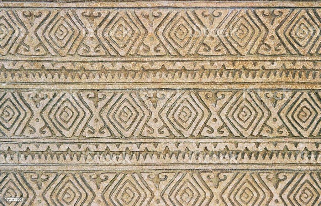 Aztec/Maya pattern stock photo