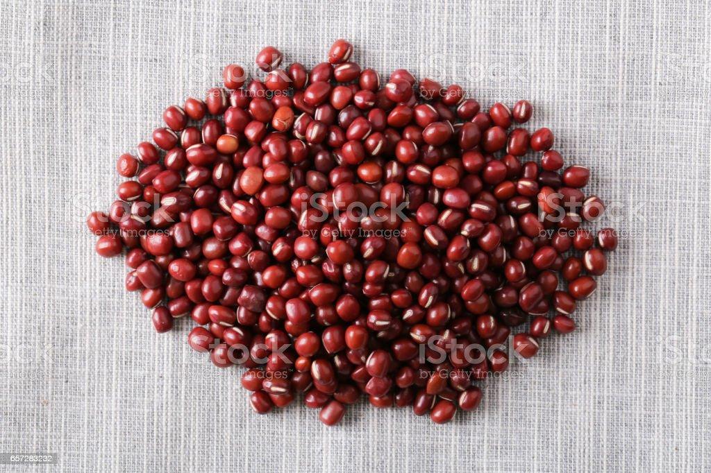 Azuki Red Beans stock photo