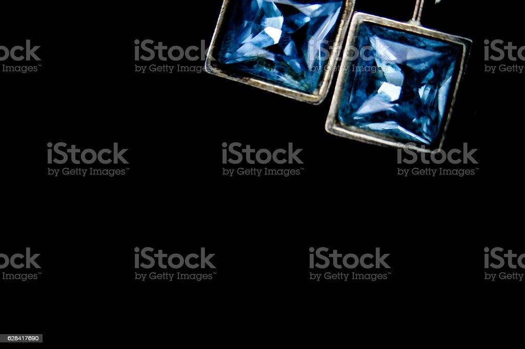 Azul diamond stock photo