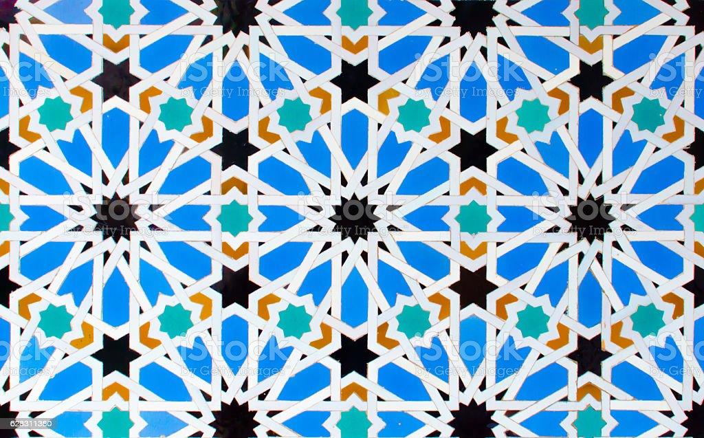 Azulejo - Geometrical Decoration stock photo