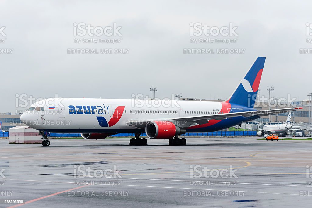 Azur Air Airline Boeing 767-300 stock photo