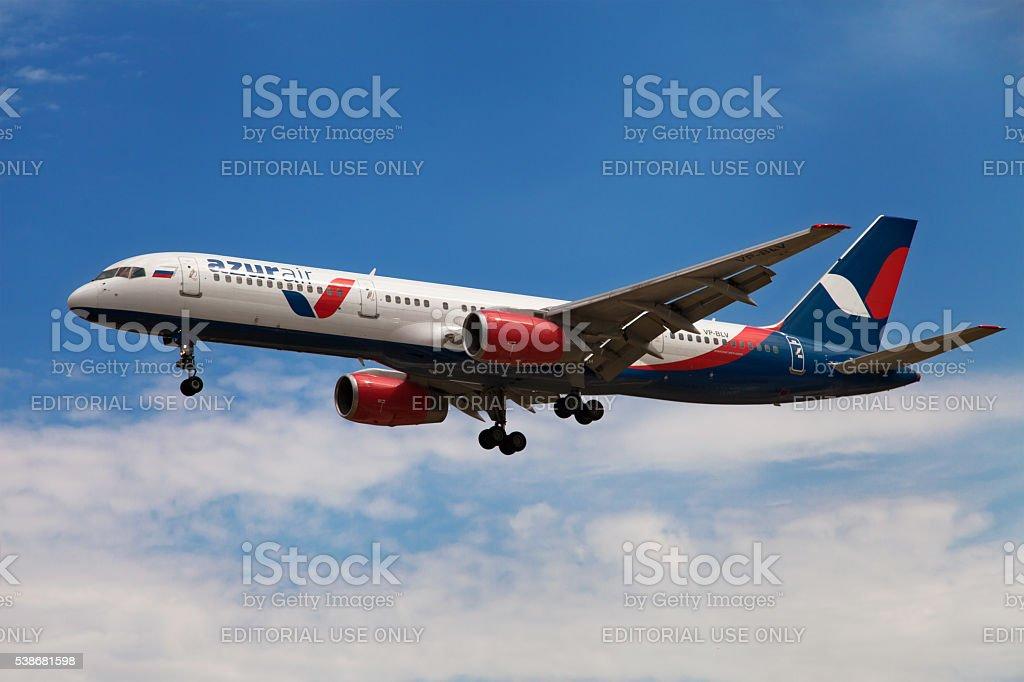 Azur Air Boeing 757 stock photo