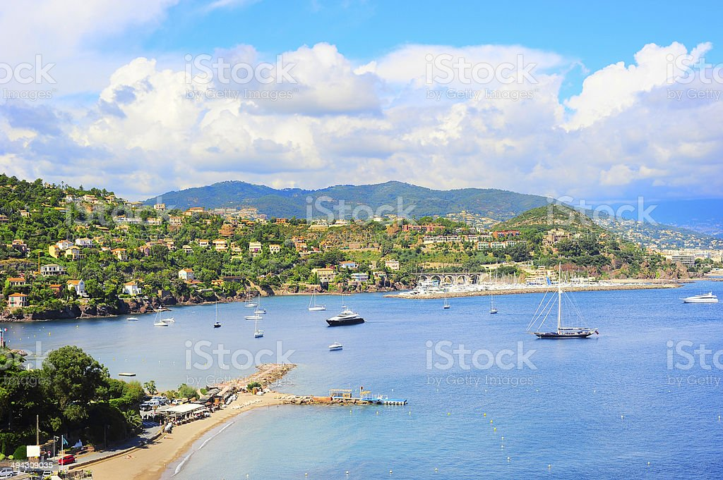 Azure Coast stock photo