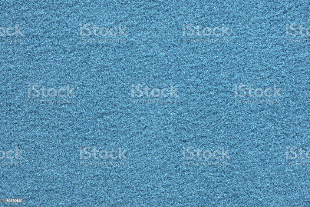 azure texture of fleecy fabric stock photo
