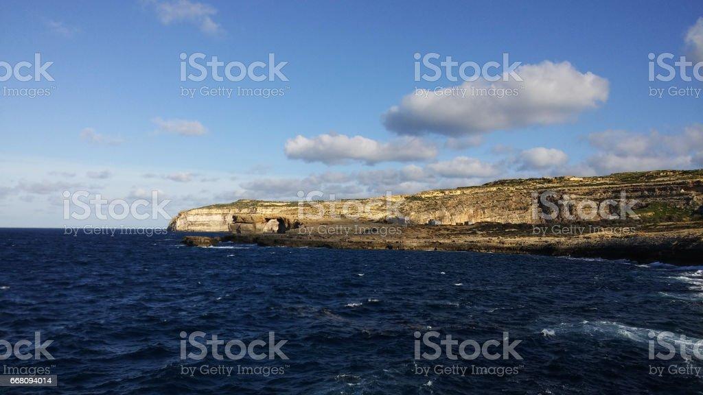 Azure window, Malta stock photo