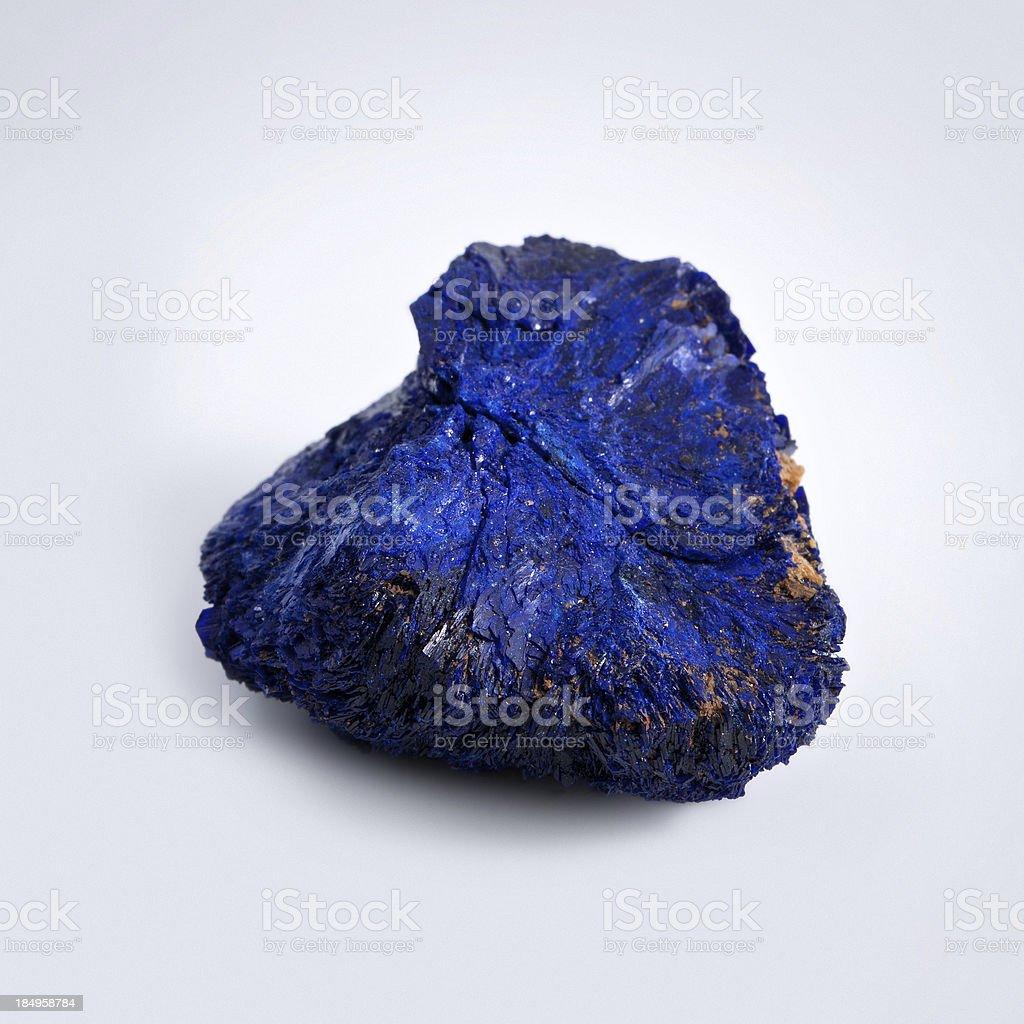 Azurite mineral stock photo