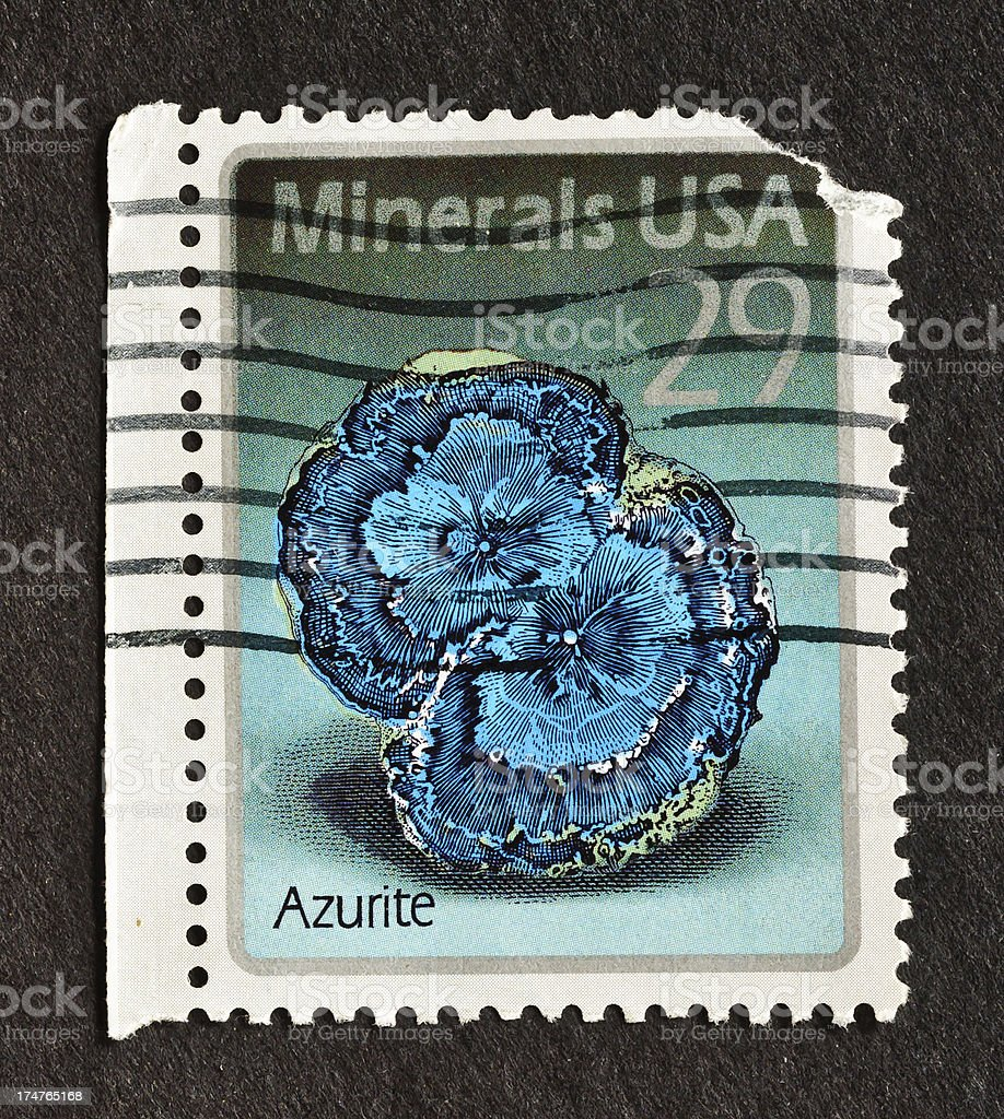 Azurite stock photo