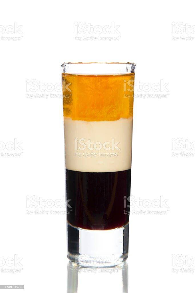 b-52 shot drink stock photo